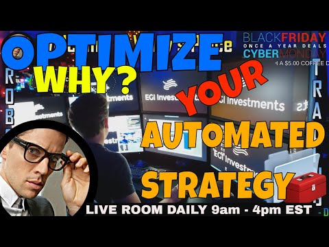 LEARN HOW TO OPTIMIZE AUTOMATED STRATEGIES - WALK THROUGH  ALGORITHMIC TRADING OPTIMIZATION NT7