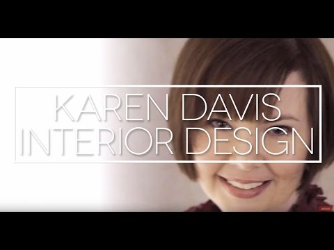 Promotional Video For Karen Davis, Interior Designer