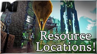 Ark Extinction: Resource Locations! Oil, Gems, Gas, Silicone, Pearls and Metal Spawns!