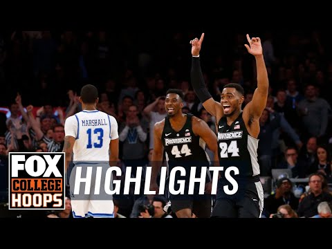 Xavier vs Providence | 2018 Big East Tournament | Highlights | FOX COLLEGE HOOPS