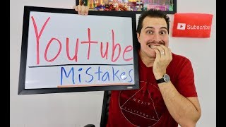 TOP 10 MISTAKES NEW YOUTUBERS MAKE!