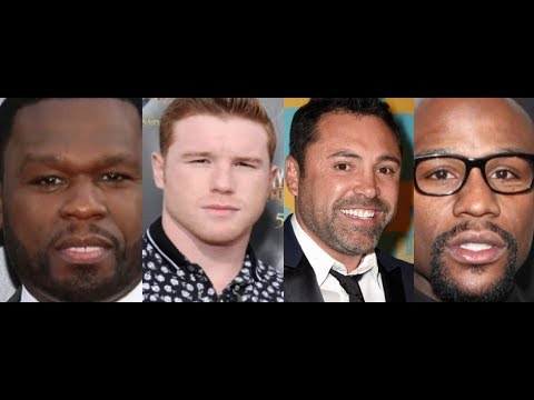 50 Cent GOES OFF on Canelo and Oscar Dela Hoya for Floyd Mayweather LMAO! $365 MILION DOLLARS