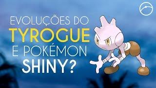 Como evoluir o Tyrogue + Evento com Pokémon Shiny?!  | Pokémon GO