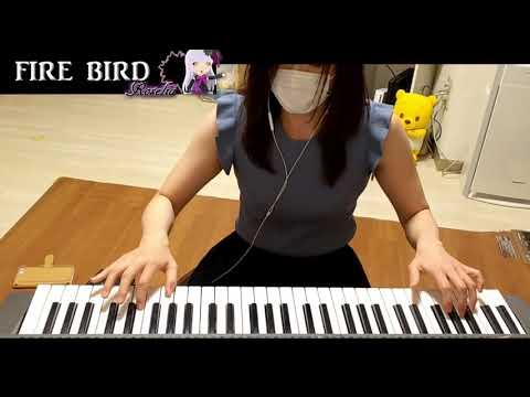 Roselia【FIRE BIRD】Fullキーボードで弾いてみた