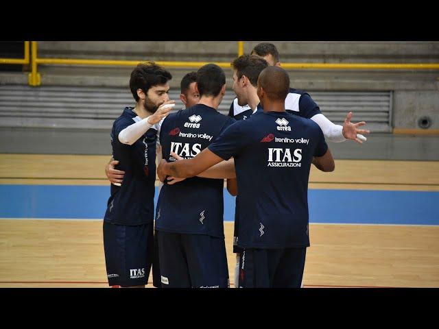 NBV Verona VS Itas Trentino 1-3 (allenamento congiunto)