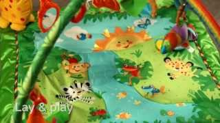 Fisher Price - Rainforest Melodies & Lights Deluxe Gym