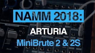Arturia MiniBrute 2 and MiniBrute 2S - hands-on