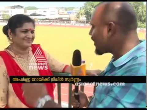 Shiny Wilson Sharing Kerala State School Sports meet 2017 Experience