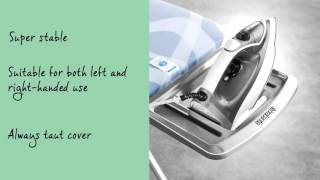 Brabantia Ironing Board - Size C with Solid Steam Iron Rest