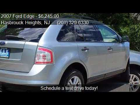 Ford Edge Se Dr Crossover For Sale In Hasbrouck Height
