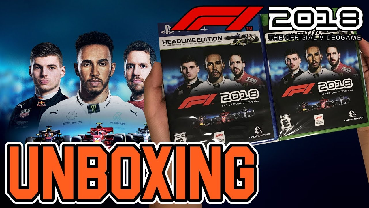 48dcdeb0404 F1 2018 (Headline Edition) (PS4 Xbox One) Unboxing!! - YouTube
