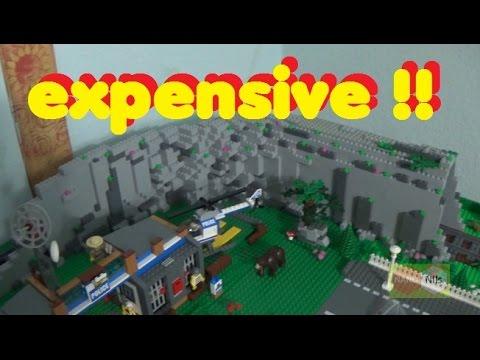 LEGO City  - mal locker 400 graue (2*4) Steine verballert