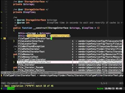 VIM as PHP IDE - PHP Unconference 2015