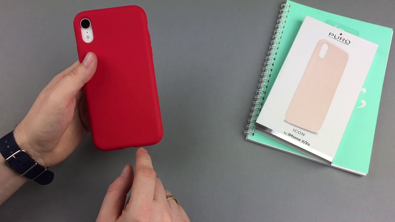 check out d8c97 87002 Etui Puro ICON Cover do iPhone XR - lepsze od etui Apple?