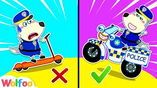 Which is Right Emergency Vehicle for Police Wolfoo - Kids Pretend Play | Wolfoo Family Kids Cartoon