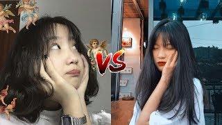Đại chiến Tik Tok#7: Lê Thị Khánh Huyền vs Đỗ Thị Quỳnh Anh. Ai xứng đáng là hot Tik Tok VN?? 😱😱
