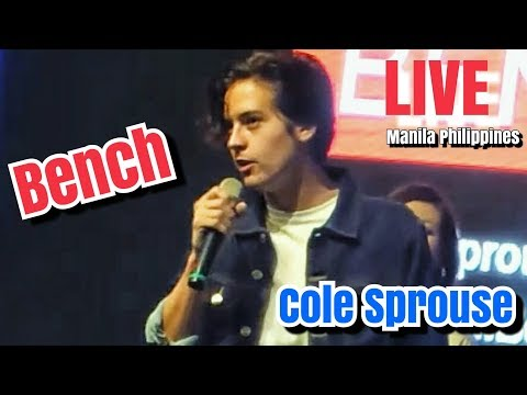 "Bench | COLE SPROUSE ""Riverdale Jughead"" LIVE in Manila Philippines"