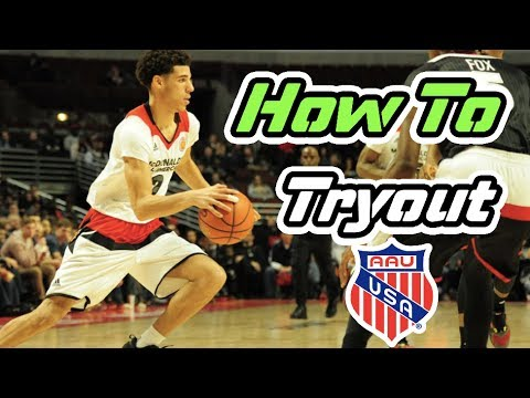 How To Tryout For An AAU Basketball Team