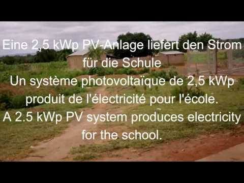 Inselsystem Togo Dapaong, Photovoltaic off grid Togo, PV en site isolé