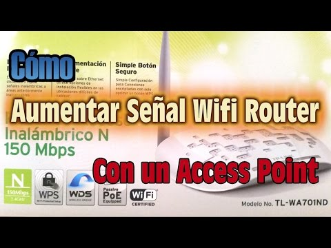 Como AUMENTAR SEÑAL WIFI Router con un Access Point - Explic