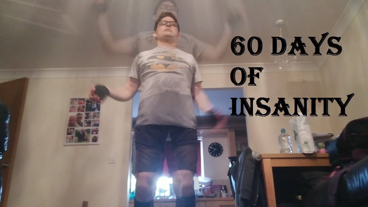 Insanity 60 day Workout: Final Results