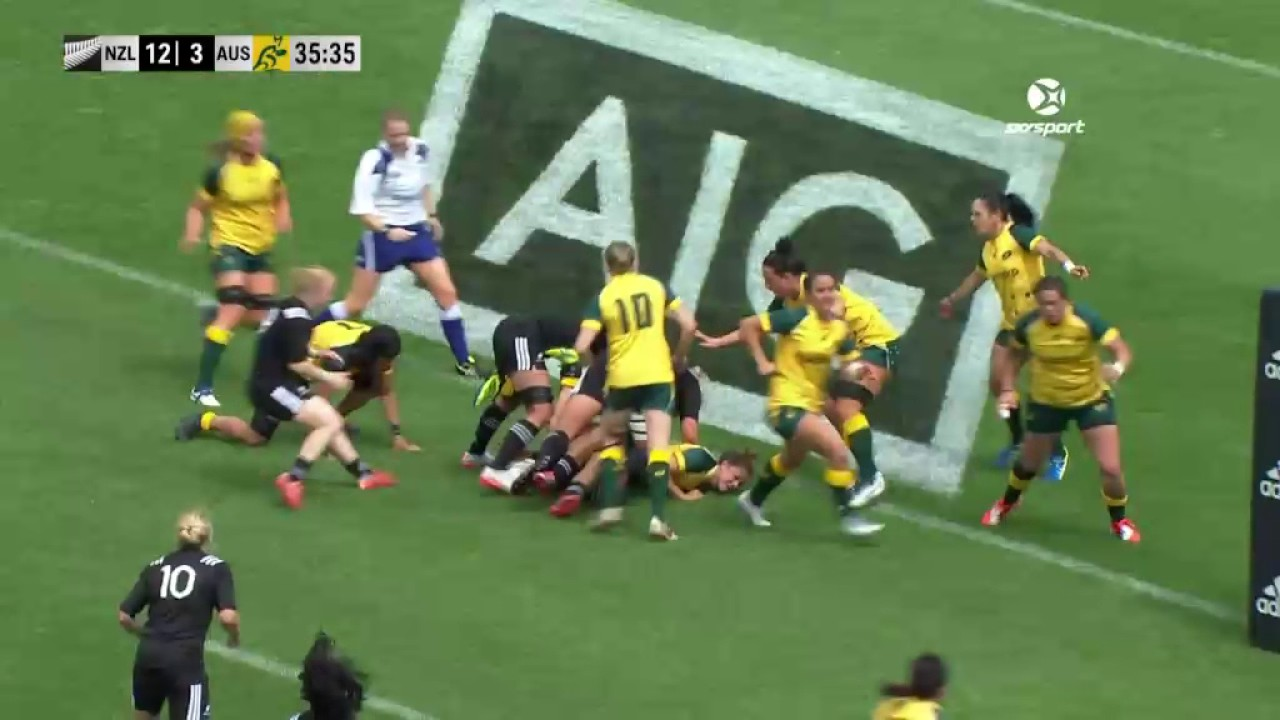 HIGHLIGHTS: Black Ferns v Australia Second Test
