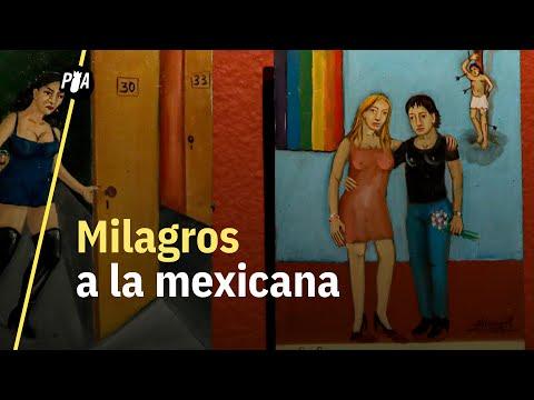 Retablos: la extraña forma de agradecimiento de los mexicanos | Exvotos de Alfredo Vilchis
