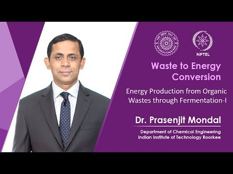 Energy production from organic wastes through fermentation-1