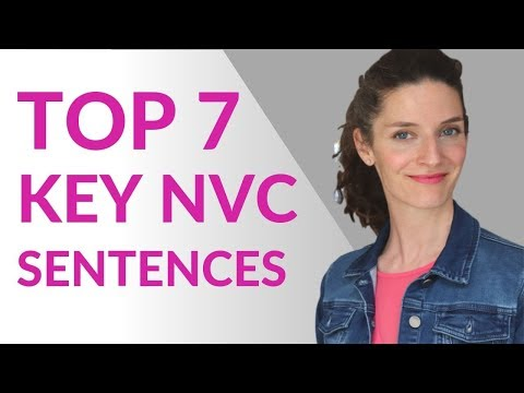 NONVIOLENT COMMUNICATION ~ TOP 7 KEY SENTENCES