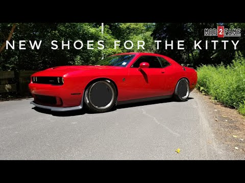Let's Talk About Light Weight Wheels on A Heavy Car Challenger Hellcat
