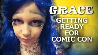 Grace VanderWaal - Getting Ready for Comic Con - Fun Video