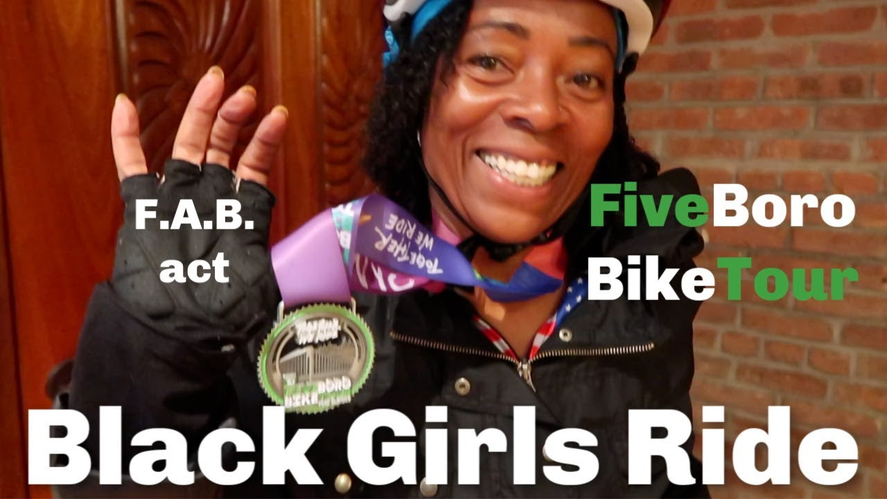 Black Girls Do Bike | a NY 5 Boro Bike Tour story