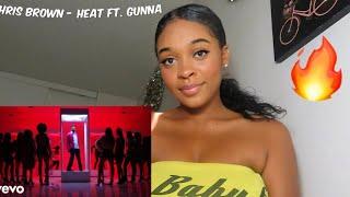 Chris Brown - Heat (Official Video) ft. Gunna REACTION