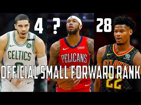 Ranking EVERY Starting Small Forward From ALL 30 NBA Teams!