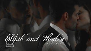 Elijah & Hayley || Элайджа & Хейли || Губами по телу (+4x03)