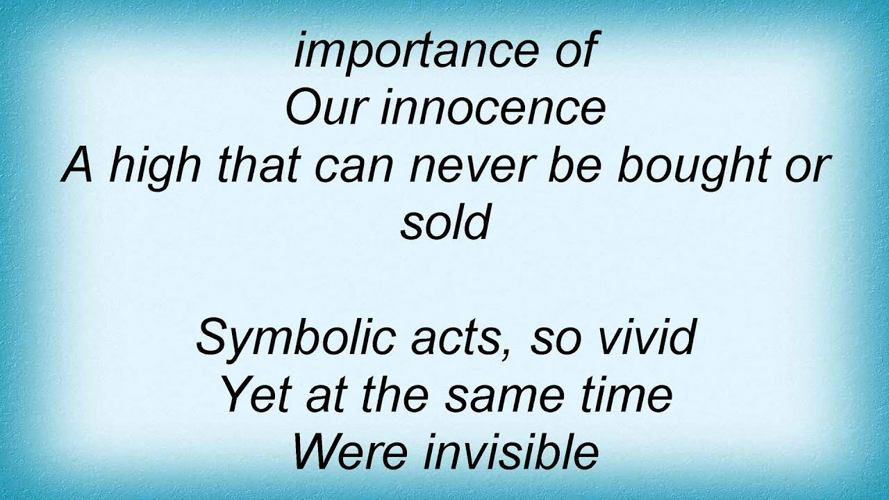 Death Symbolic Lyrics Youtube