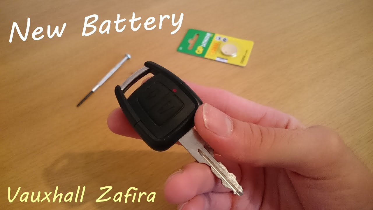 replacing vauxhall zafira car key battery youtube. Black Bedroom Furniture Sets. Home Design Ideas