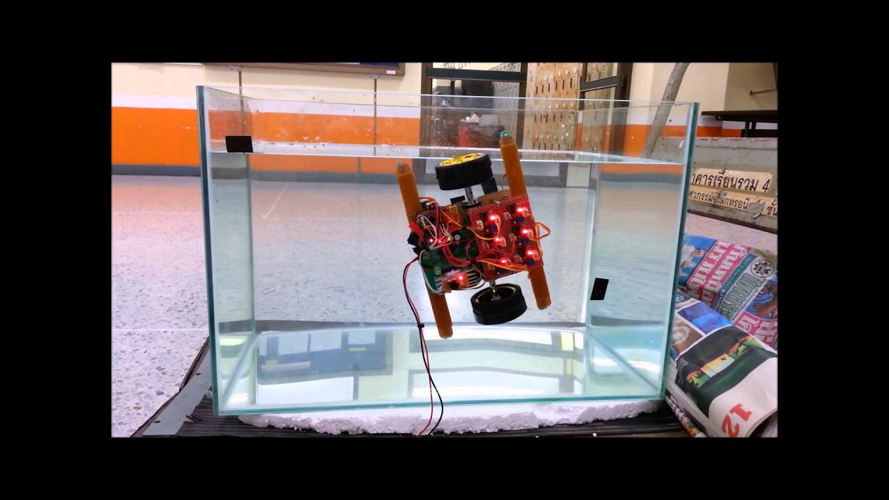 Automatic aquarium fish glass cleaning robot youtube for Automatic fish tank cleaner