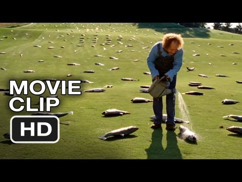 The Three Stooges #5 Movie CLIP - Salmon Farming (2012) HD Movie
