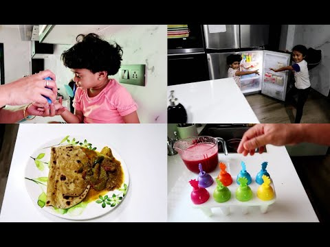 Starting New Year Fresh | Decluttering and Clean with Me | Watermelon Popsicle | Kovakkai Curry