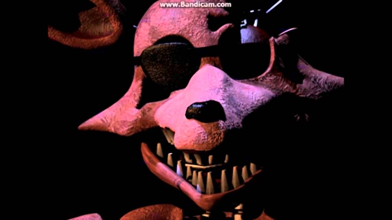 dark foxy easter egg on five nights at freddys 2 youtube