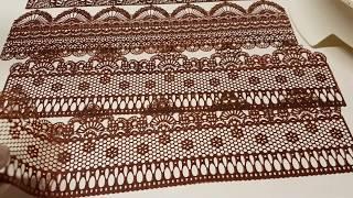 Renda  de Chocolate da Lulu. Muito  fácil de Fazer. Luzia Oliveira.