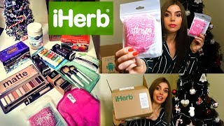 Мой заказ iHERB 2019 Распаковка посылки еда косметика ЯНВАРЬ Обзор ПОКУПКИ unbox