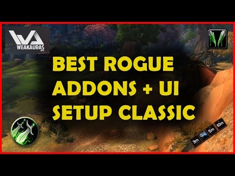 Clean UI Setup + Must Have ROGUE Addons Classic WoW