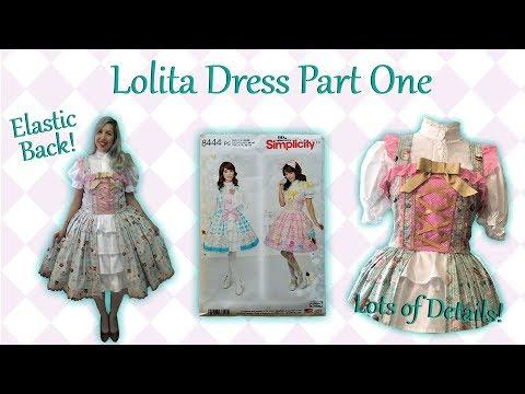 Simplicity Ladies Sewing Pattern 8444 Lolita Costume Simplicity-8444-M