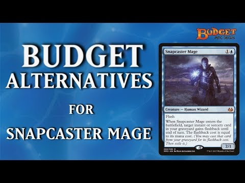 Budget Alternatives for Snapcaster Mage - Magic the Gathering