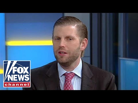 Eric Trump weighs in on Ted Koppel calling out media bias