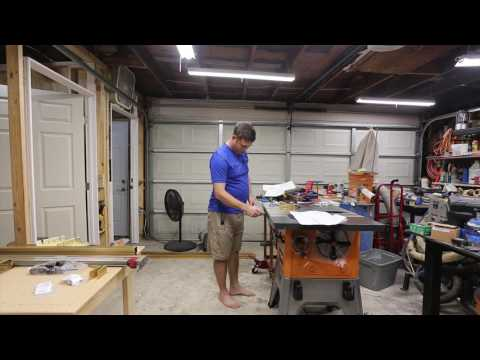 Install Incra Fence System on Ridgid R4512 Table Saw