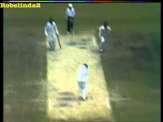 Imran Khan stunning bowling vs Australia 1981 Travel Video
