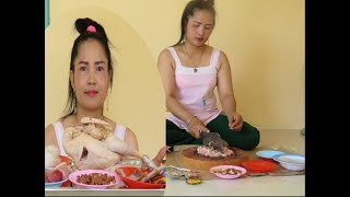 How to COOK Chicken With Recipe New   Village Food Factory